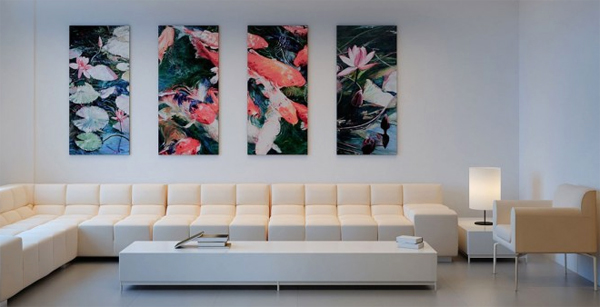 5 fortune wall painting ideas with animal themes - Interior Wall Painting Designs