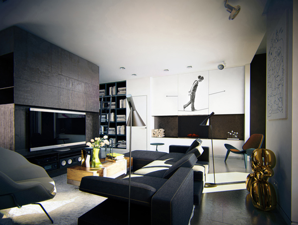 masculin-apartment-design-with-contemporary-art