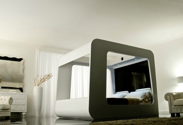 Modern Beds High Fidelity Canopy By Hican Home Design