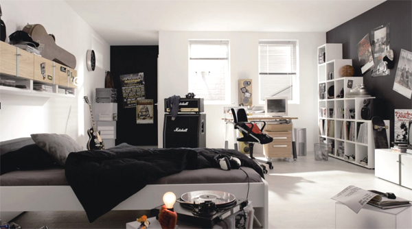 music themed bedroom home design and interior rh homemydesign com