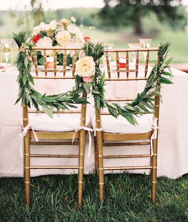 Outdoor Weddings Do Yourself Ideas: Outdoor Wedding Chairs: Romantic Ideas For Couple