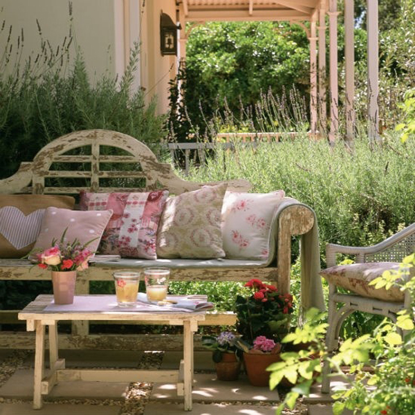Beautiful Small Gardens small garden ideas: beautiful renovations for patio or balcony