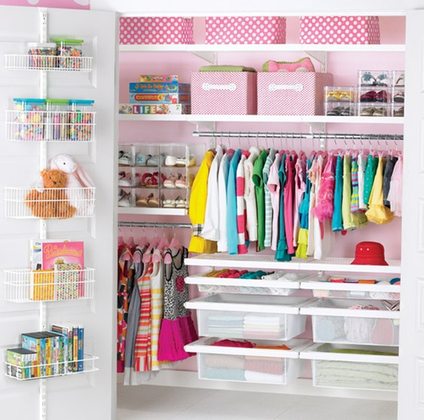 Beautiful And Small Girl Closet Ideas | Home Design And ..