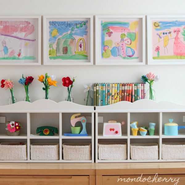playroom storage for kids 35 Awesome Kids Playroom Ideas