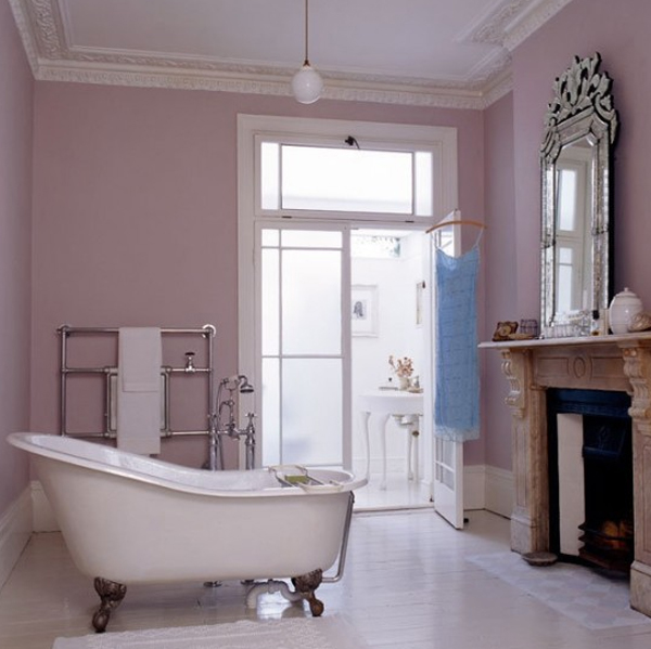 Pretty pink bathroom design ideas for Pretty bathrooms