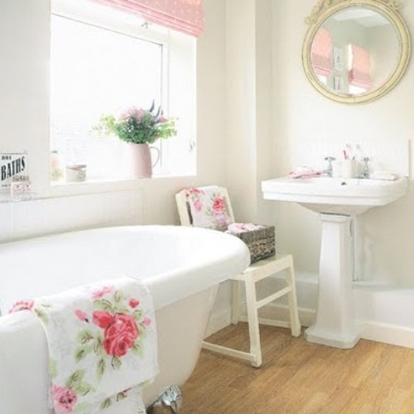 20 pretty bathroom design ideas home design and interior for Pretty small bathroom ideas