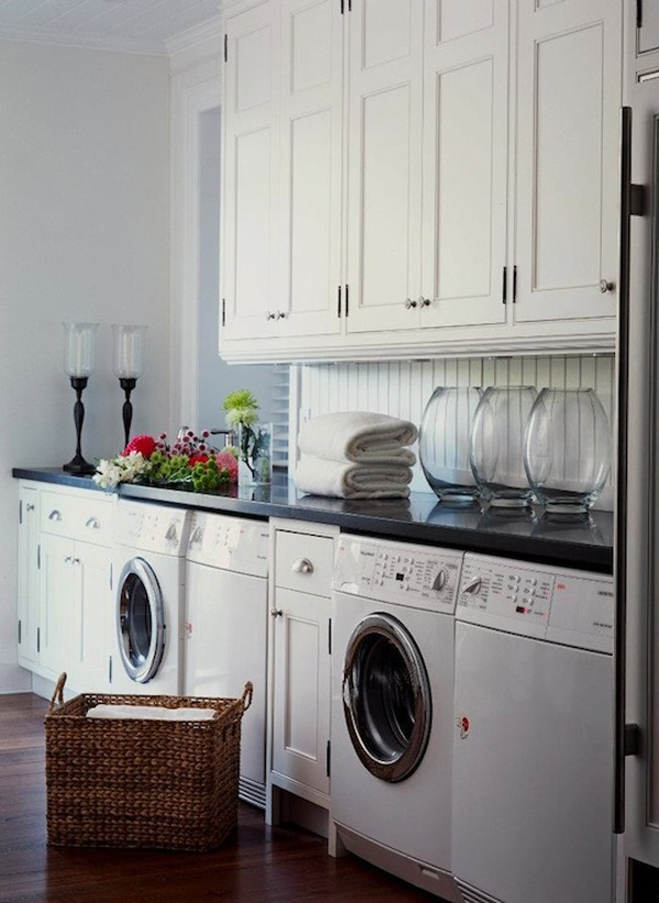 rustic laundry room design ideas 10 Black and White Laundry Room Design Ideas