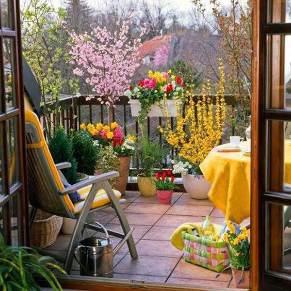 Small Garden Ideas: Beautiful Renovations for Patio or Balcony | Room