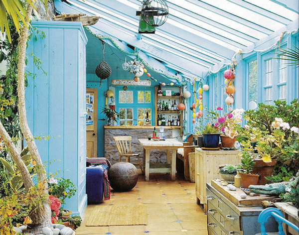 Small house sunrooms for Sunroom garden room