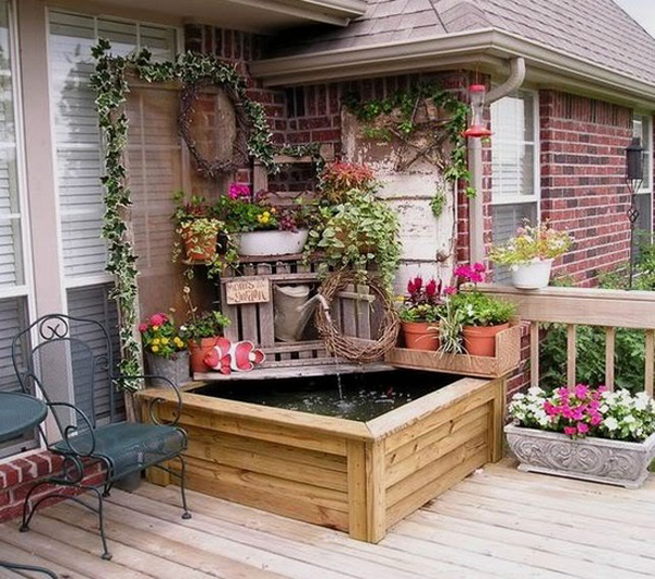 Decorating ideas patio pinterest rachael edwards for Small garden decoration
