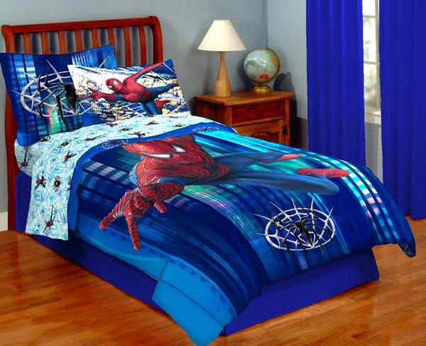 15 Kids Bedroom Design with Spiderman Themes  Home Design And ...