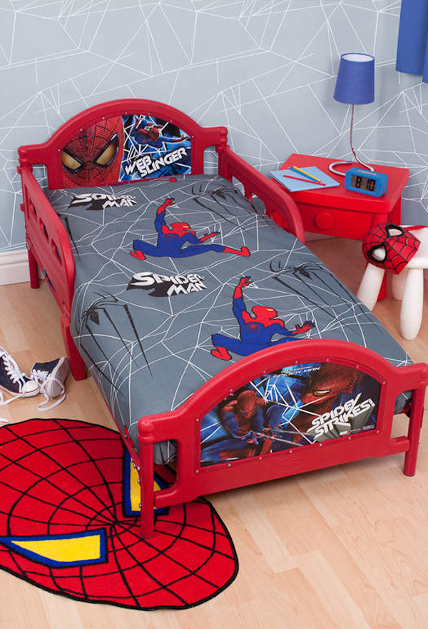 15 kids bedroom design with spiderman themes home design