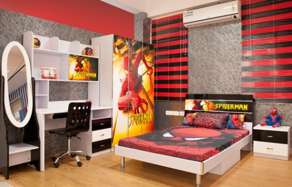 spiderman-bedroom-set