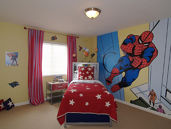 spiderman bedroom set home accessories egyptian cotton