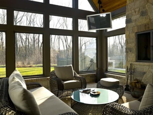 Sunroom ideas with window for Sunroom inspiration