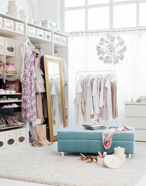 Gallery Of Beautiful And Small Girl Closet Ideas