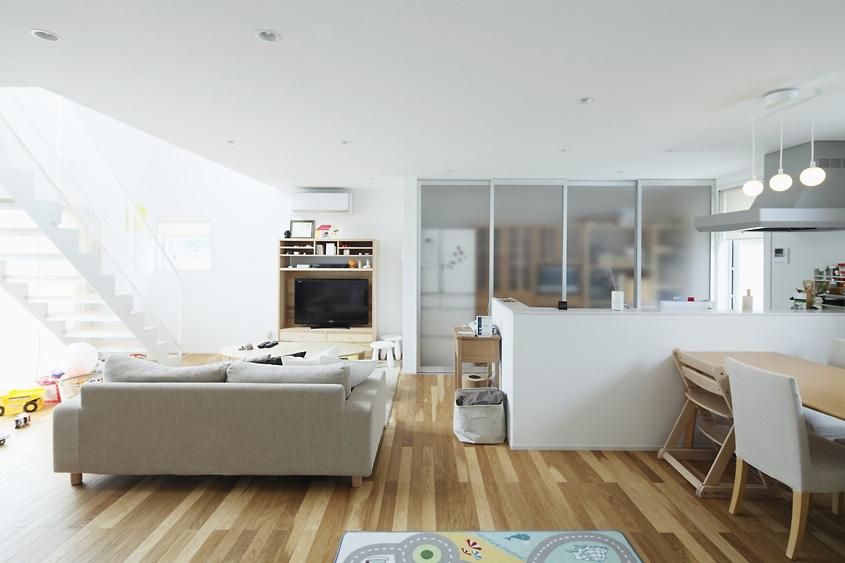 All White Furniture Living Room