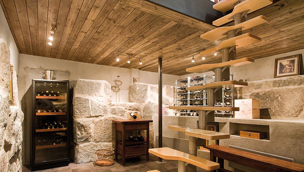 wine cellar basement finishing ideas