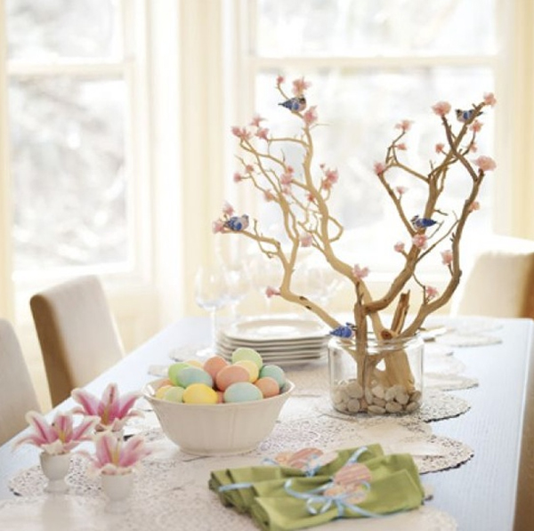 Wonderful easter table ideas - Table centerpieces for home ...