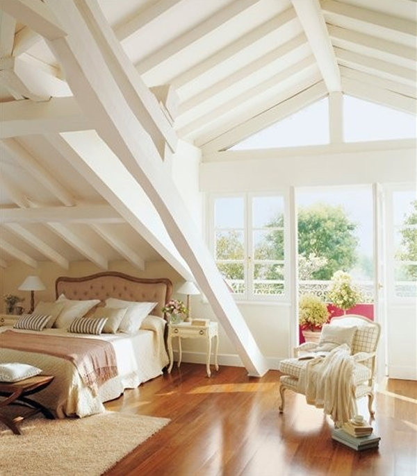 25 inspirational attic room design ideas home design and for Attic room