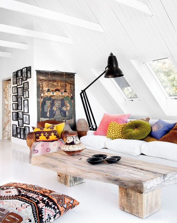 attic living room decoration ideas