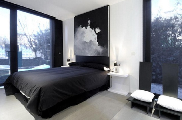 black masculine bedrooms Cool And Masculine Bedroom Ideas