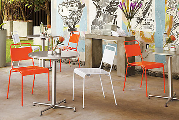 Colorful Bistro Furniture Sets