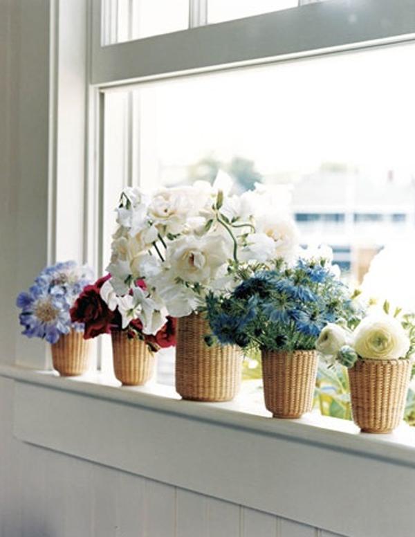 Flower Window Baskets : Flower window box