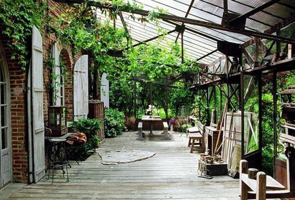 French Veranda House Design