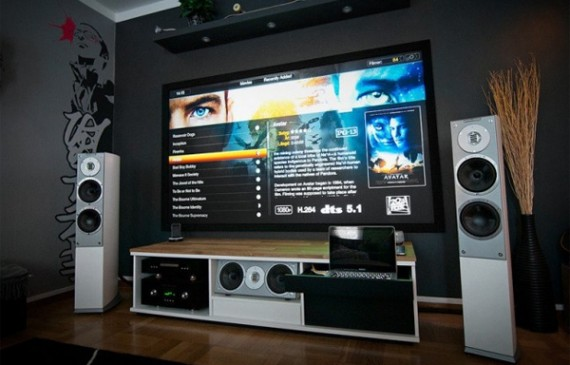 Coolest Home Entertainment System For Room Ideas