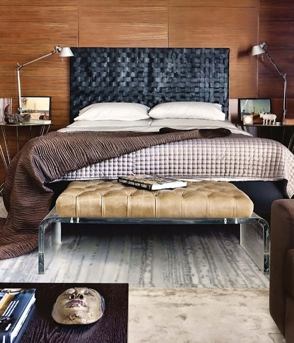 masculine bedroom decorating ideas Cool And Masculine Bedroom Ideas