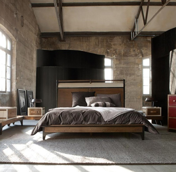 Masculine Interior Decorating: Masculine-bedroom-decorations