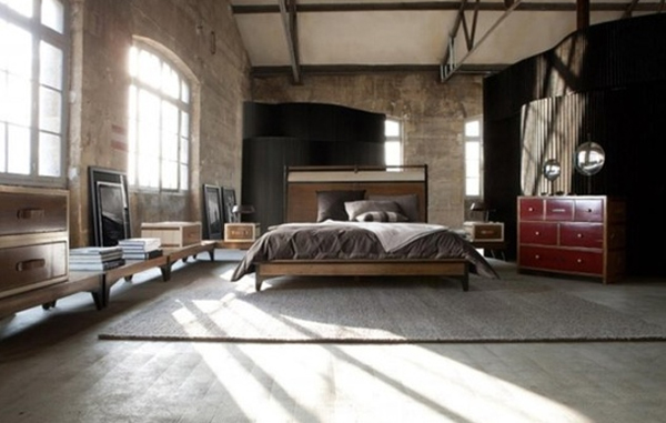 masculine bedroom interiors Cool And Masculine Bedroom Ideas