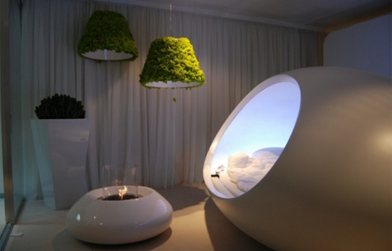 modern-fireplaces-with-pendant-lights