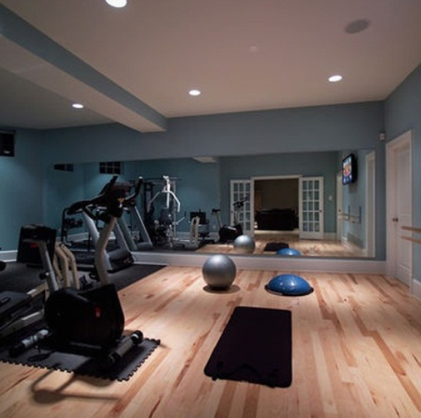 Home Gym Design Ideas: Modern-home-gym-equipment