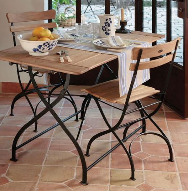Gulfport 3pc blue bistro set apollo outdoor designs - Bistro sets for small spaces collection ...