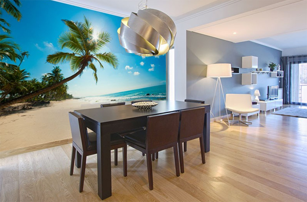 Photo Wallpapers For Dining Room Interior