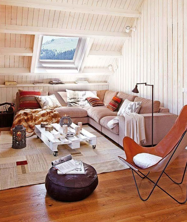 Rustic Attic Room Ideas