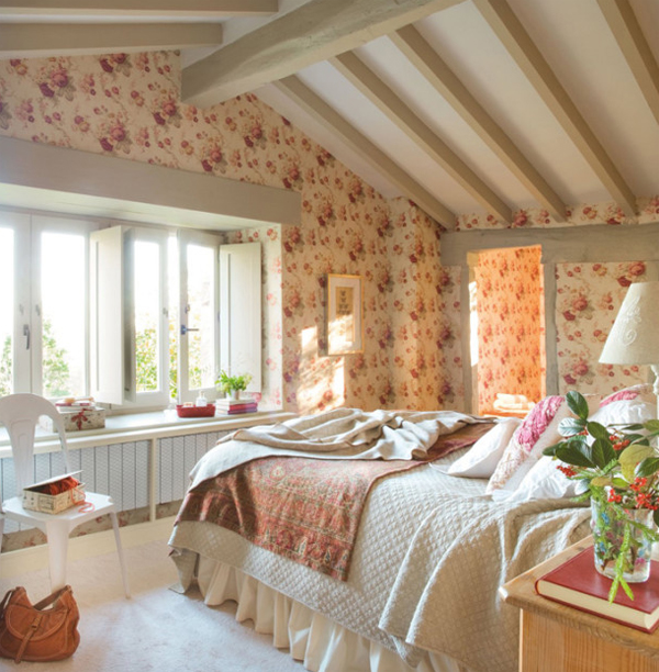 Rustic Master Bedrooms In Spanish