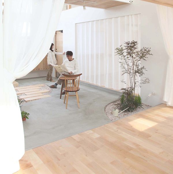 Small Japanese Gardens In Kofunaki House Home Design And Interior