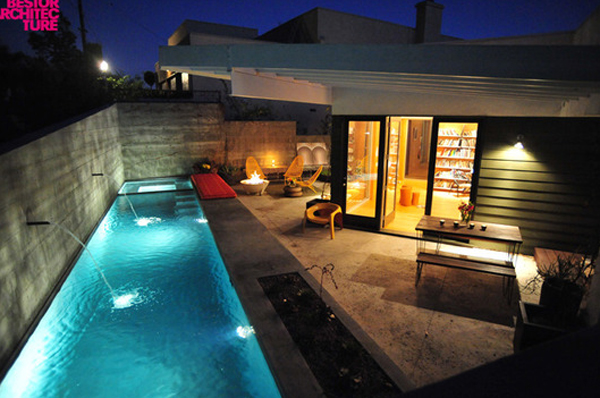 Best 10 small minimalist pool ideas home design and interior for Minimalist house with swimming pool