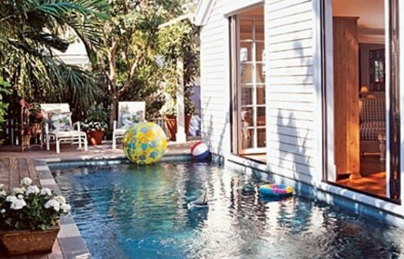 Small Outdoor Pool Ideas 570x365