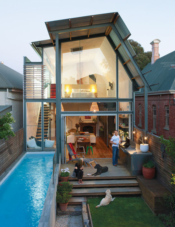 Small swimming pool design - Simple houses design with swimming pool ...