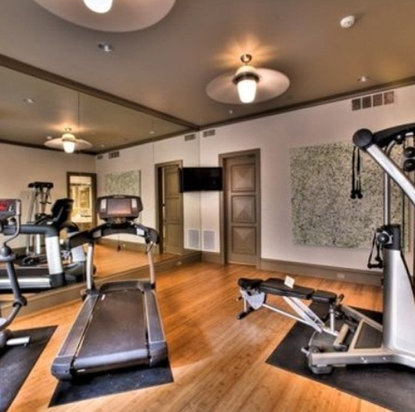 wood home gym equipment