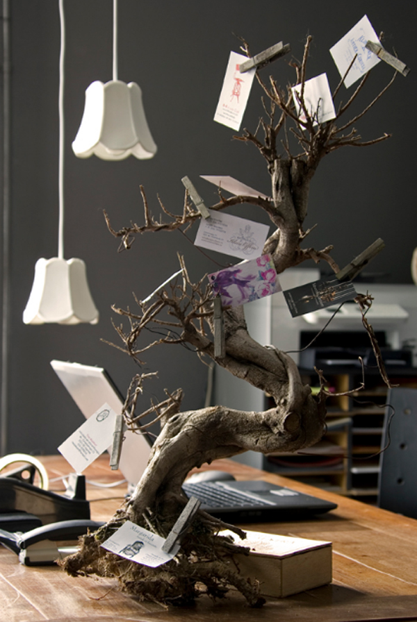 Creative Wooden Branches Furniture