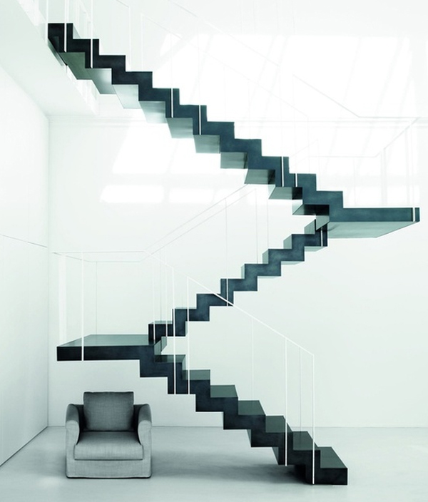 Magnificent Modern Staircase Design Ideas 600 x 704 · 165 kB · jpeg