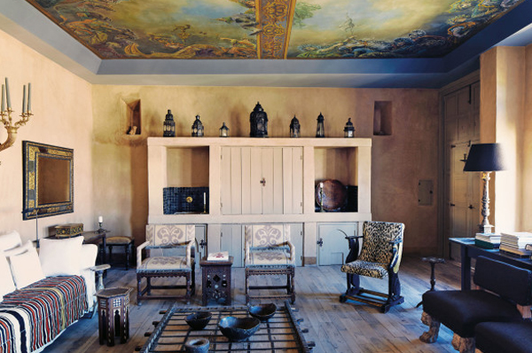 Traditional House With Stylish Heaven In Morocco Home Design And  Traditional Moroccan House Design   crowdbuild for  . Moroccan Home Design. Home Design Ideas