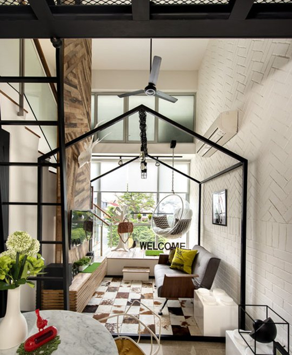 Beautiful loft home designs pictures interior design Small homes with lofts