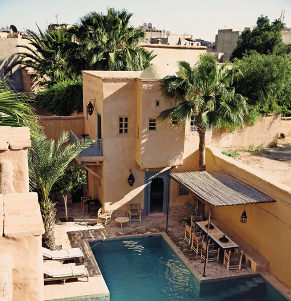 This Traditional House Into A Tourist Route Lines Located In Taroudant,  Morocco. A Remote Market Town Where Traditional Architecture Has Created  The Most ...