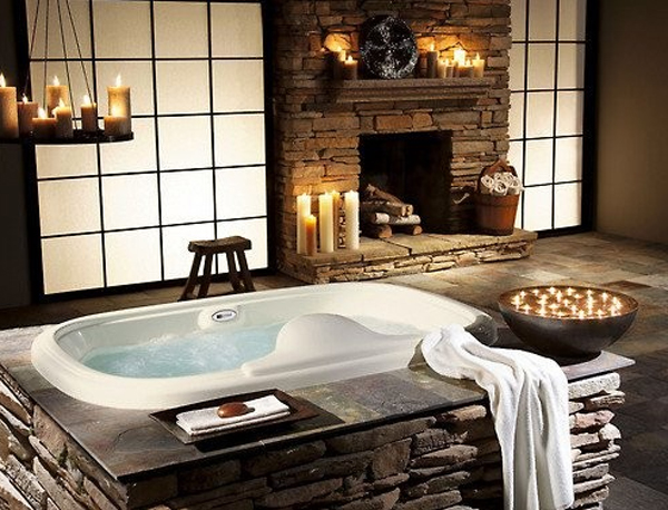 Top 20 romantic bathrooms for wedding home design and interior Romantic bathroom design ideas